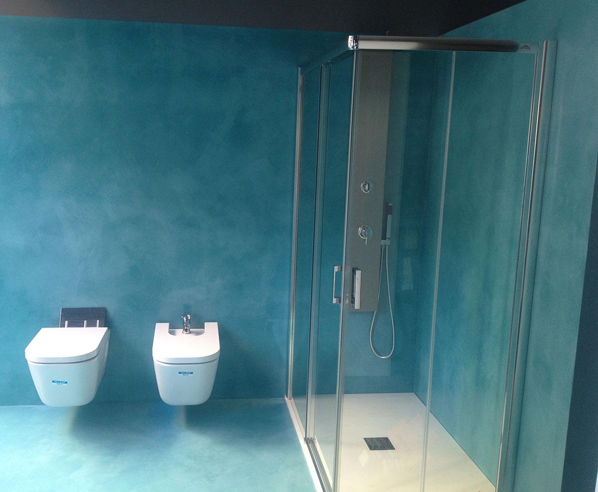 Baños Con Microcemento Fotos:Ejemplo Baño de Microcemento realizado en Alaquas