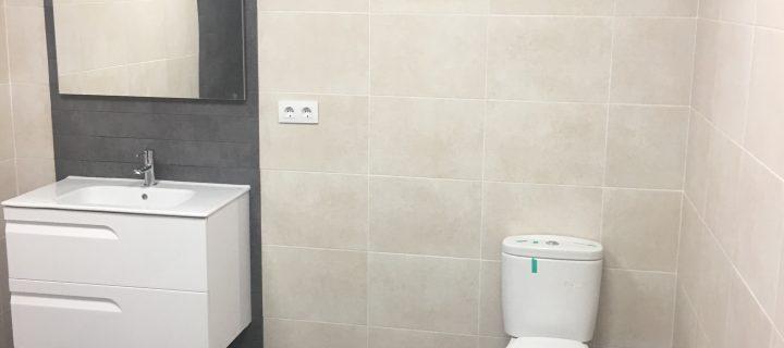 Reforma de baños de oficinas de Rafa