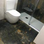 Reforma de baños, año con ducha